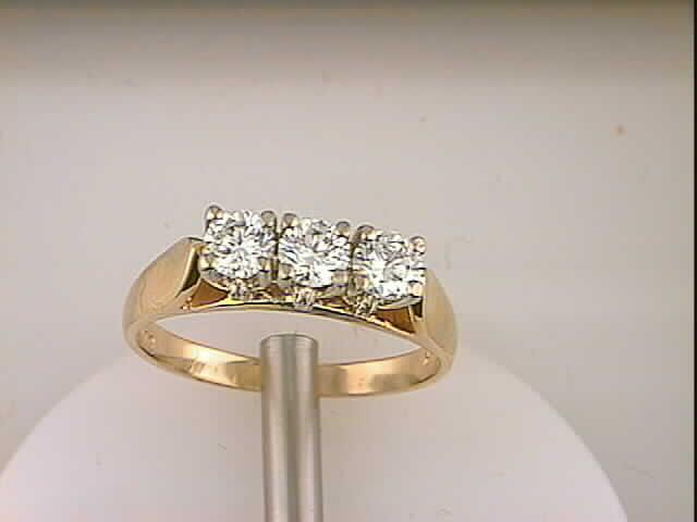 Trio Diamond Ring