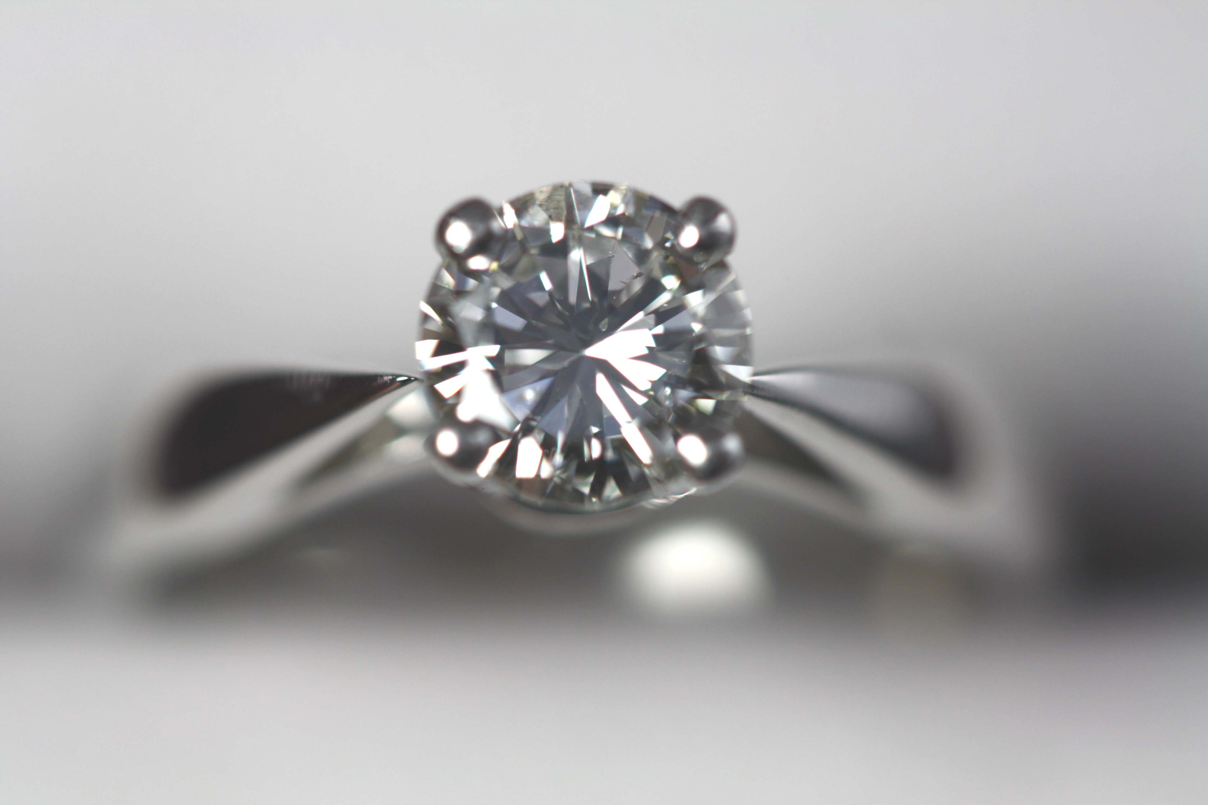 0.73 ct. Diamond Solitaire Ring
