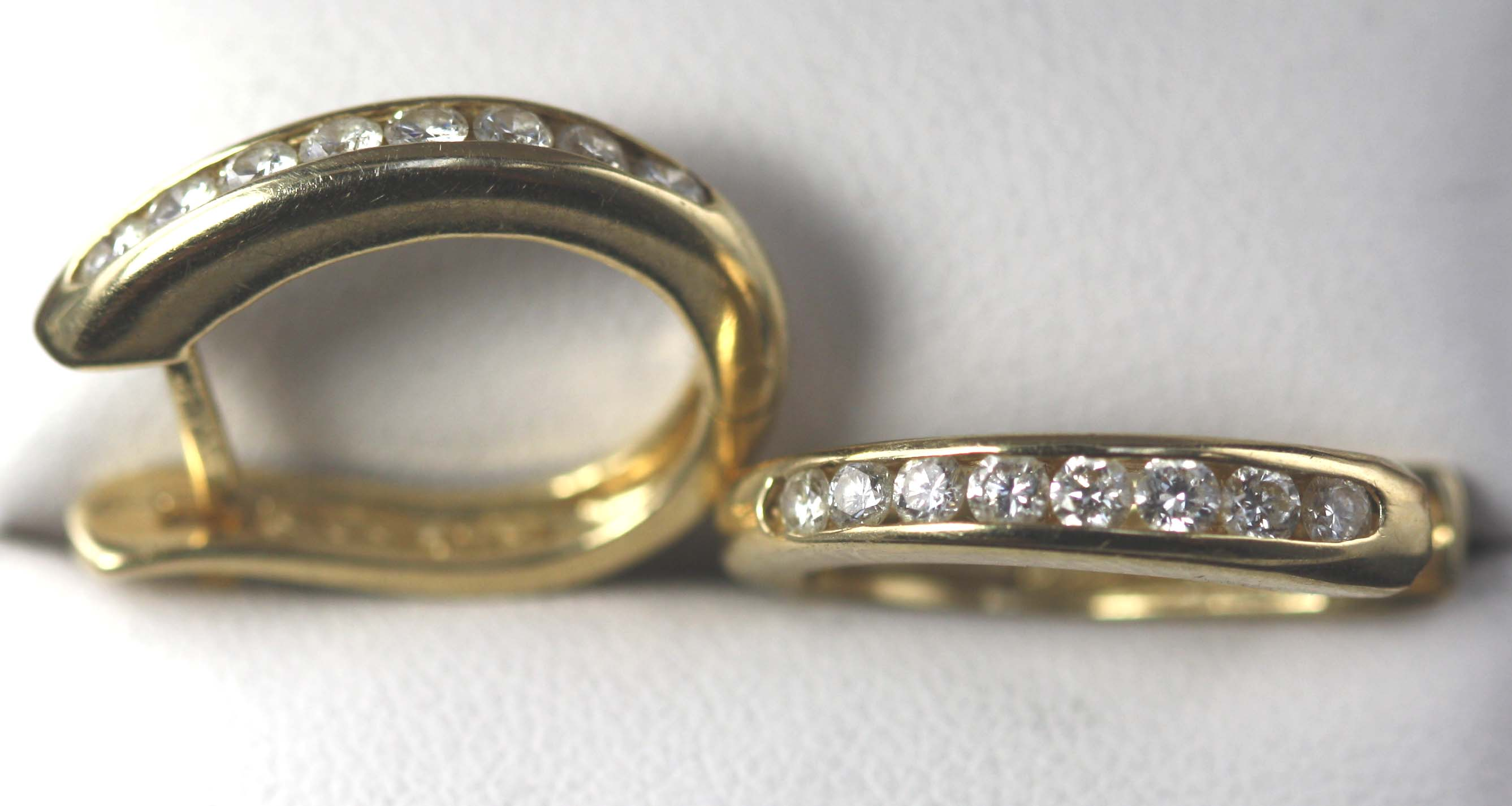 Diamond Hoop Earrings 0.50 ct.