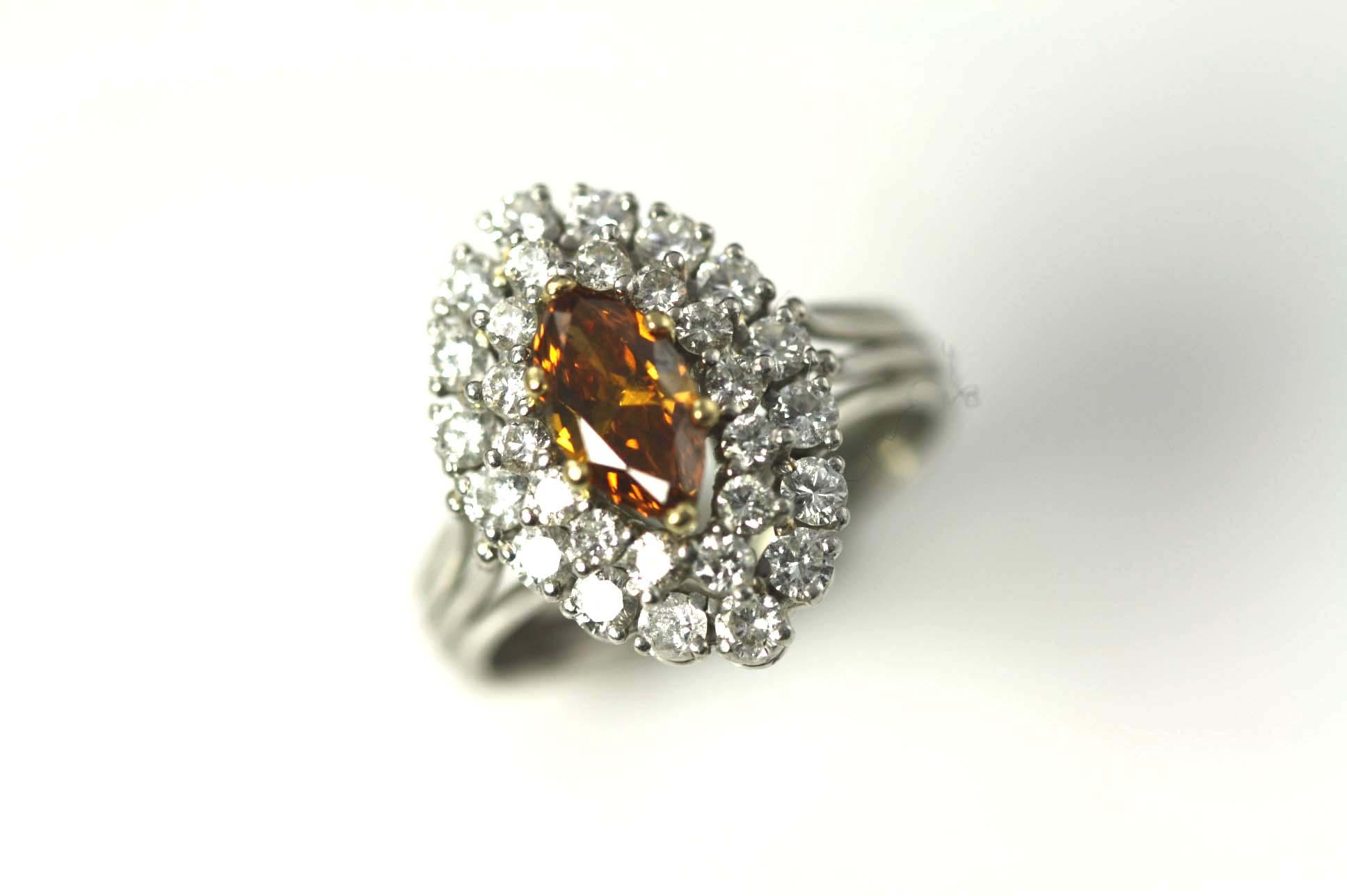 .65ct Champagne Diamond