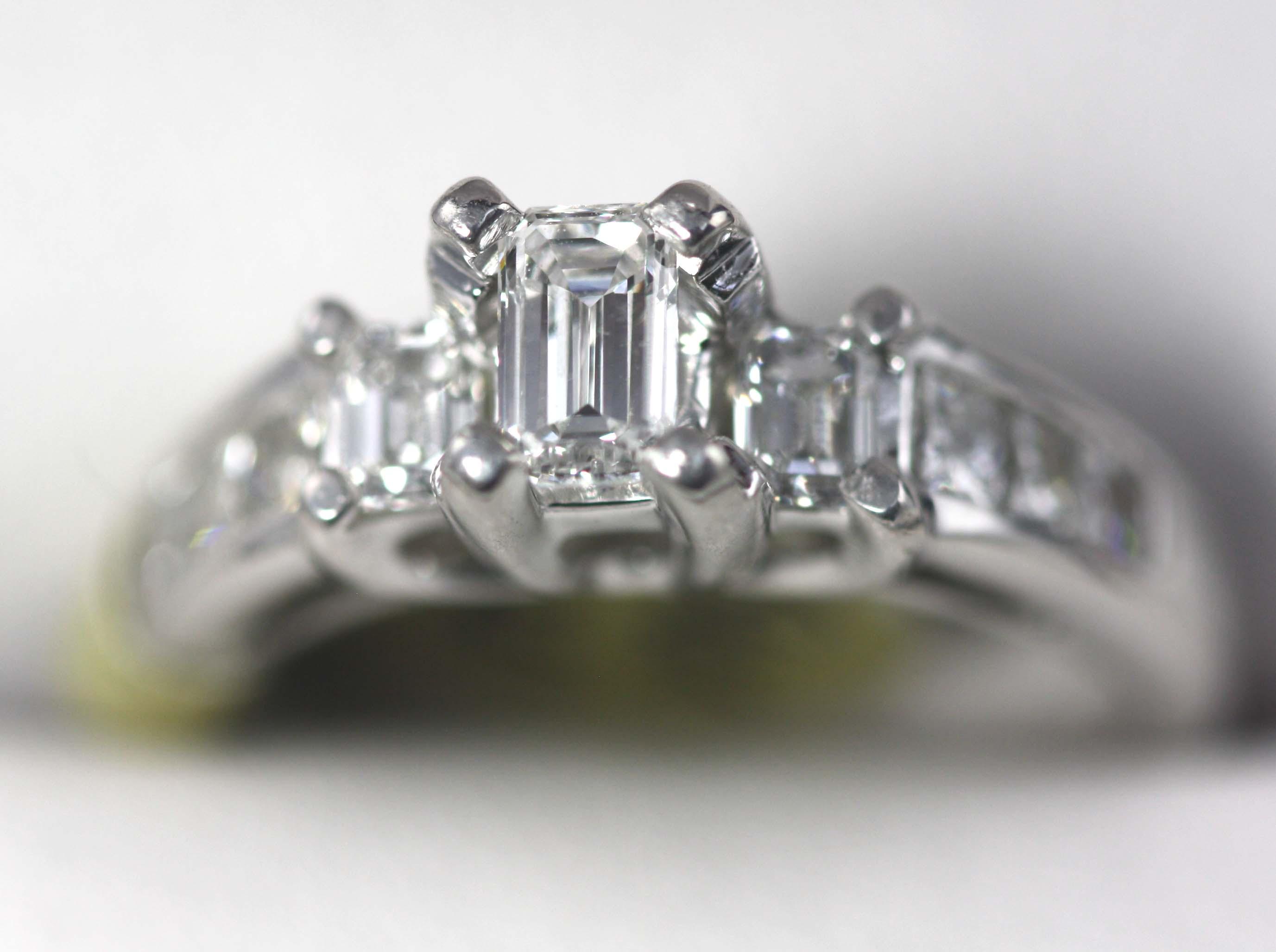 0.40ct Emerald Cut