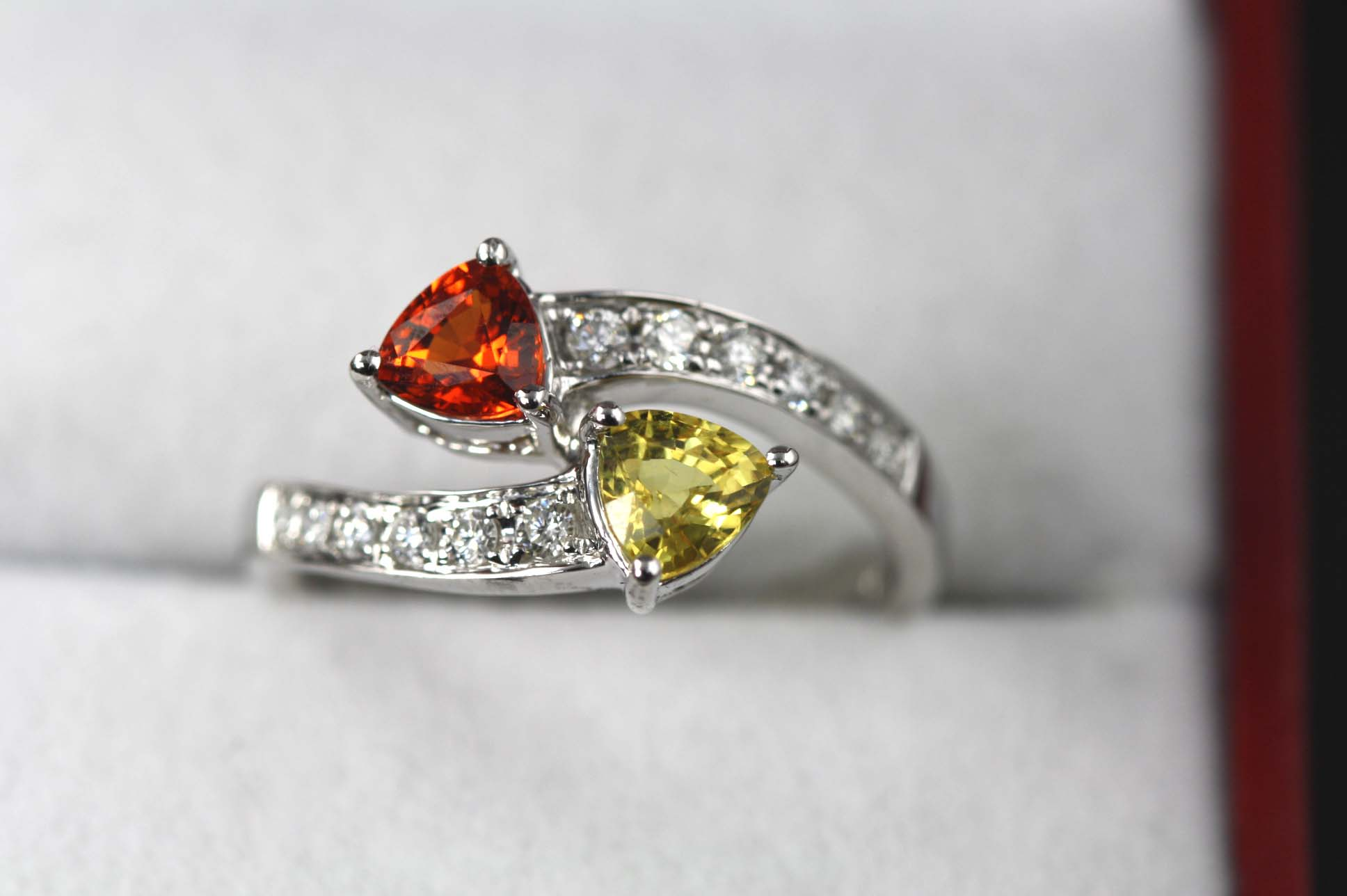 Orange + Yellow Sapphires
