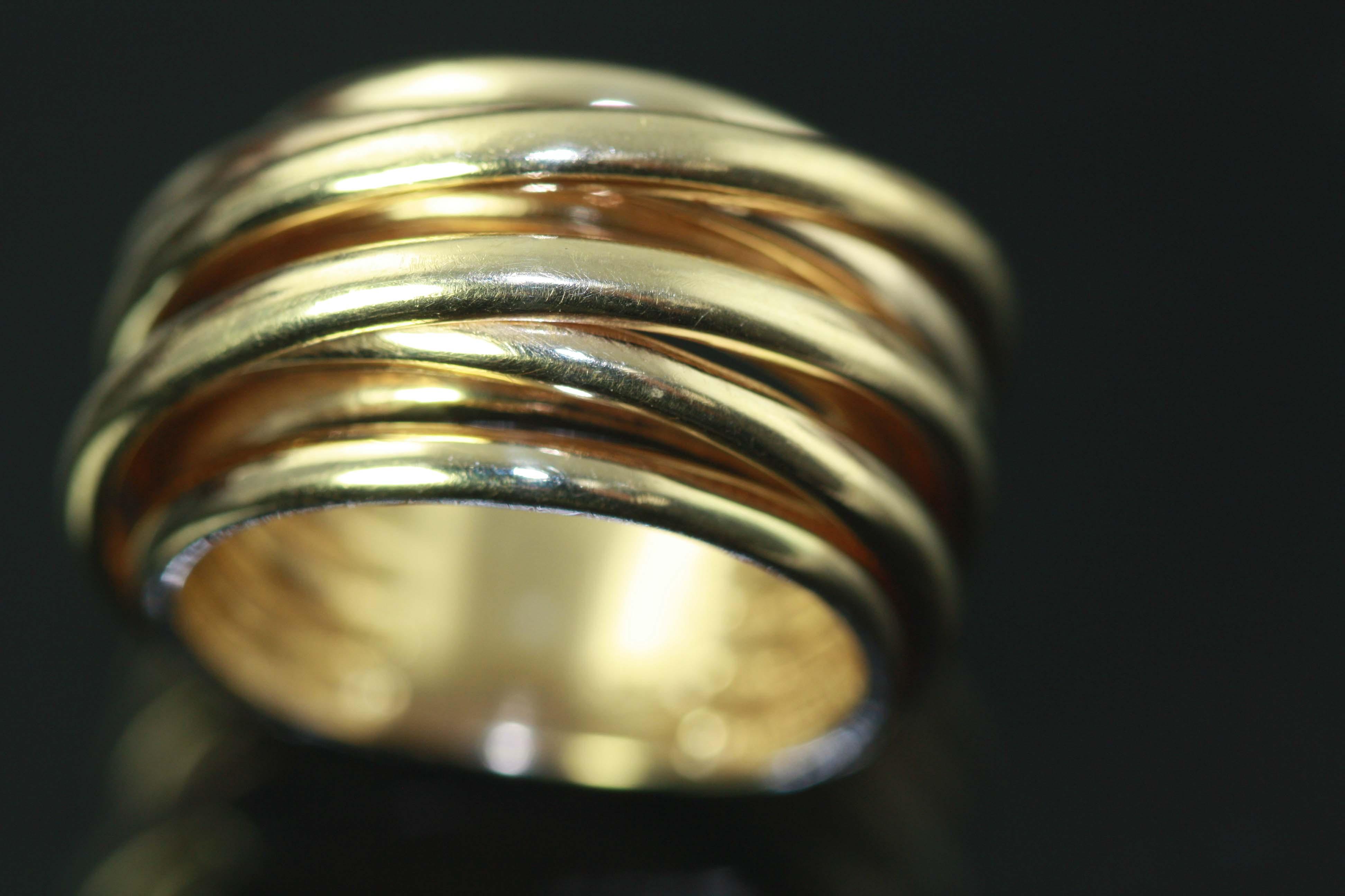 Impressive Gold Ring