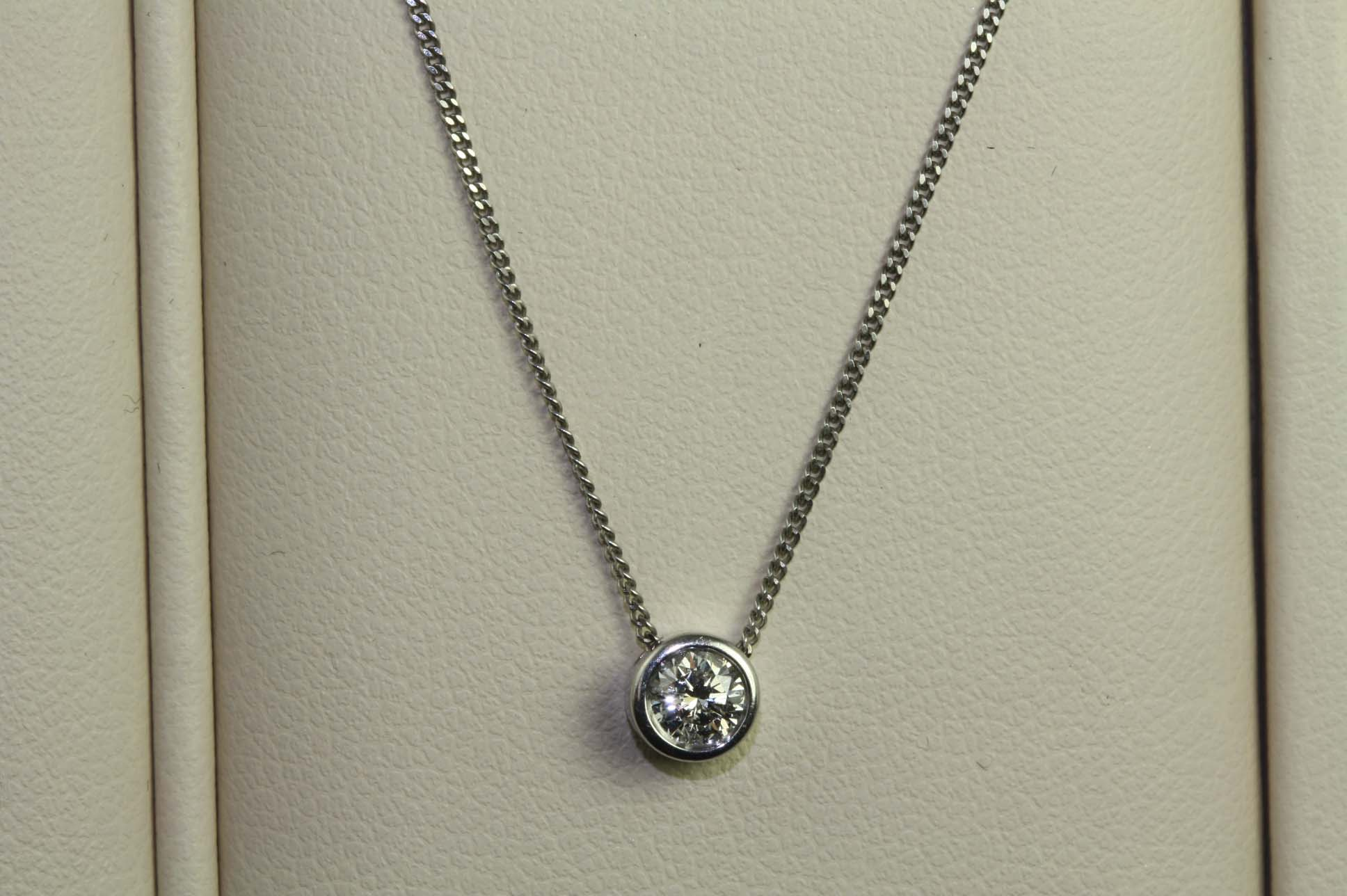0.20ct, Slider & chain